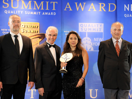 Premiación Capazos Daniella Salcedo premio Bid Nueva York