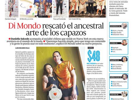 Diario La Cuarta : Daniella Salcedo acompaña al socialité chileno que reside en Nueva York .