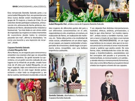 Alma Nueva , el nuevo proyecto de Capazos Daniella Salcedo
