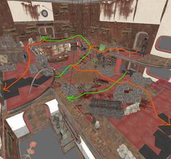 Dunwich warehouse Interior In-engine Screenshot 02