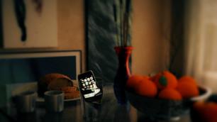 I phone In Glass