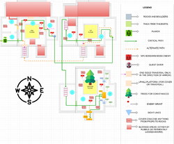 Lesser Evil Interior Map