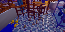 Bathroom Track - Clutter