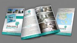 Δίπτυχο φυλλάδιο | Bifold brochure
