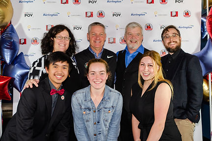 """Cast ad Crew of """"Band Geeks"""" at the premiere."""