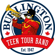 Burlington Teen Tour Band Logo