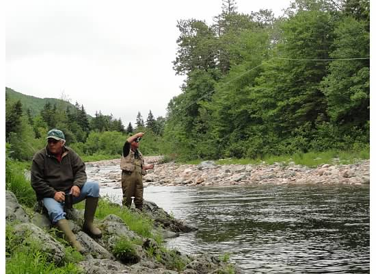 Flyfishing for Atlantic Salmon