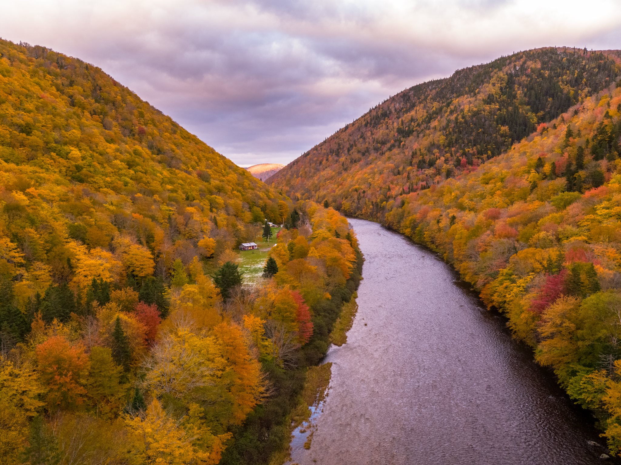 Cape Breton fall colours