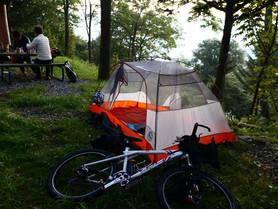 Gariwangsan Bikepacking Ride Photo