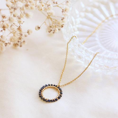 Dark Circle Necklace