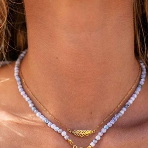 Delecate Leaf Necklace