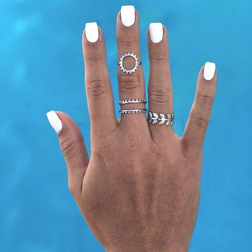 Sensei Silver Rings