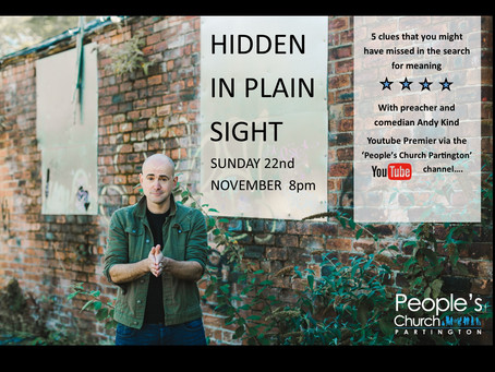 Hidden In Plain Sight! with Andy Kind