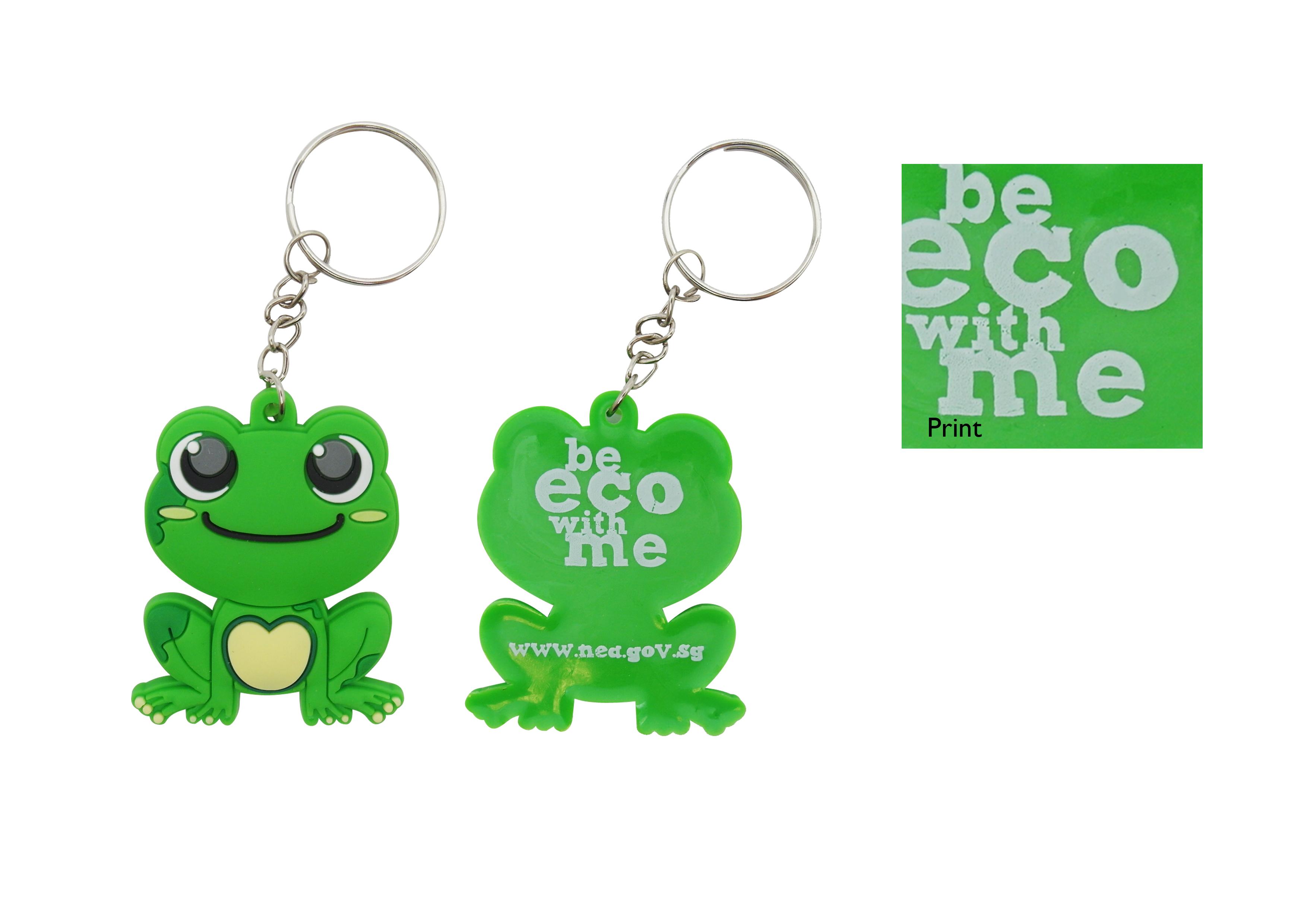 NEA CG Frog Keychain