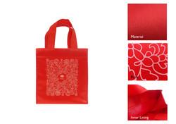 CNY Orange Carrier Bag