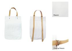 2-Way Canvas Bag