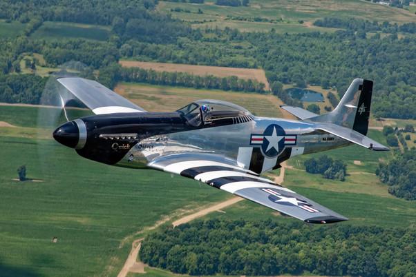 "P-51D Mustang ""Quicksilver"""