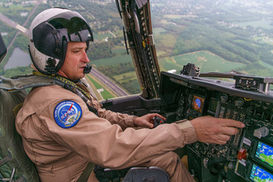 At the Controls of the World's Last Flying S-3 Viking