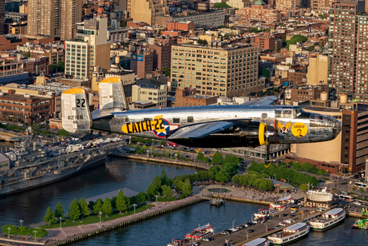 "American Airpower Museum's B-25 ""Miss Happ"""
