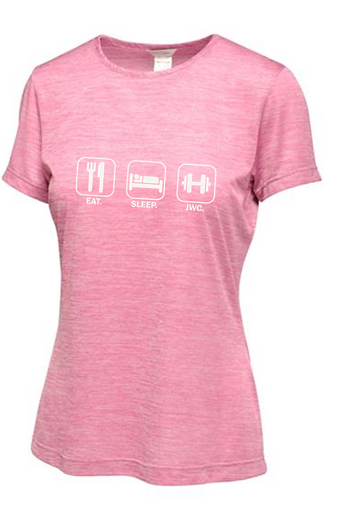 Eat Sleep JWC Ladies T-shirt