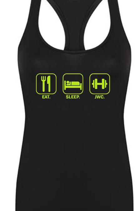 Eat Sleep JWC Ladies Tank