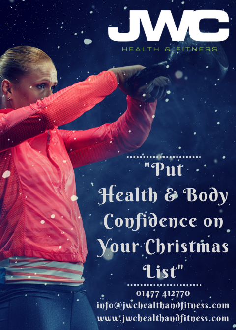 Can we relate the stresses of Christmas to your fitness...