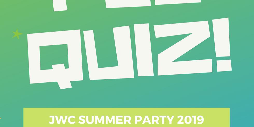 JWC Summer Celebration - Pub Quiz