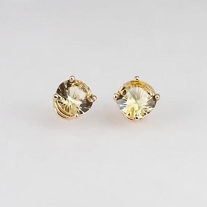 Natural Sapphire Stud Earrings