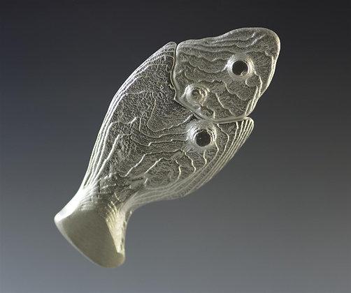 Cuddlefish Brooch