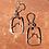 Thumbnail: Mountain Moon Earrings
