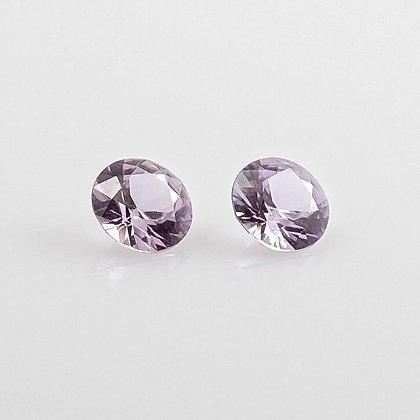 Lavender Sapphire, Brilliant Cut, Natural & Unheated