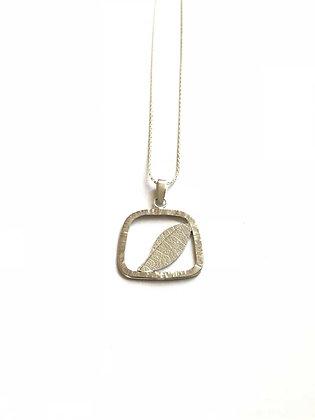 Leaf Framed Necklace