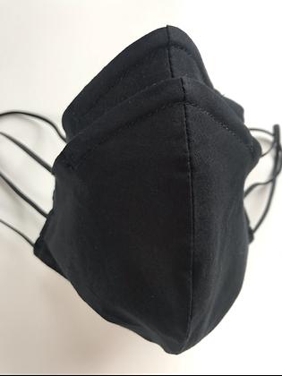 Black, Shaped Mask