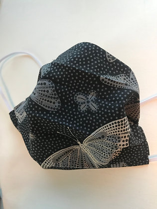 Black Butterfly, Pleated Mask