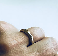Rustic Gold Ring