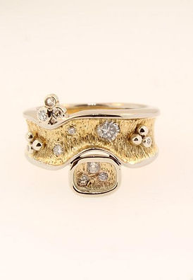 Redesigned Ring Custom gold one of a kind ontario canada jewellery