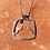 Thumbnail: Mountain Moon Necklace, Small