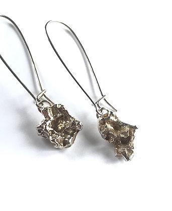 Organic Drop Earrings