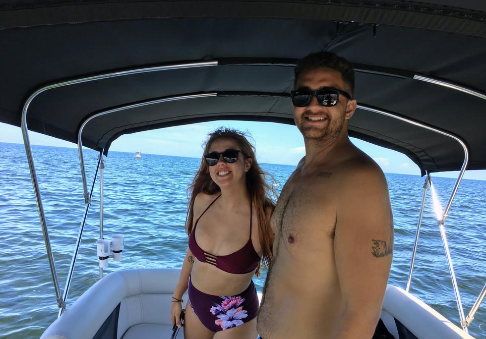 Private boat tour