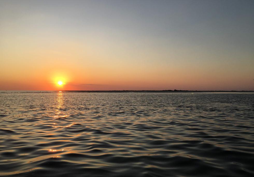 Sunset boat tour