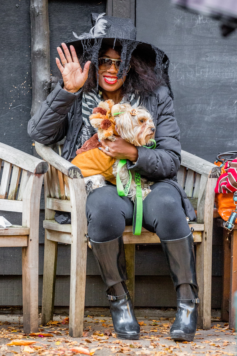 Dog photography in London. All Dogs Matter Halloween Charity Event. Fancy dress contestants