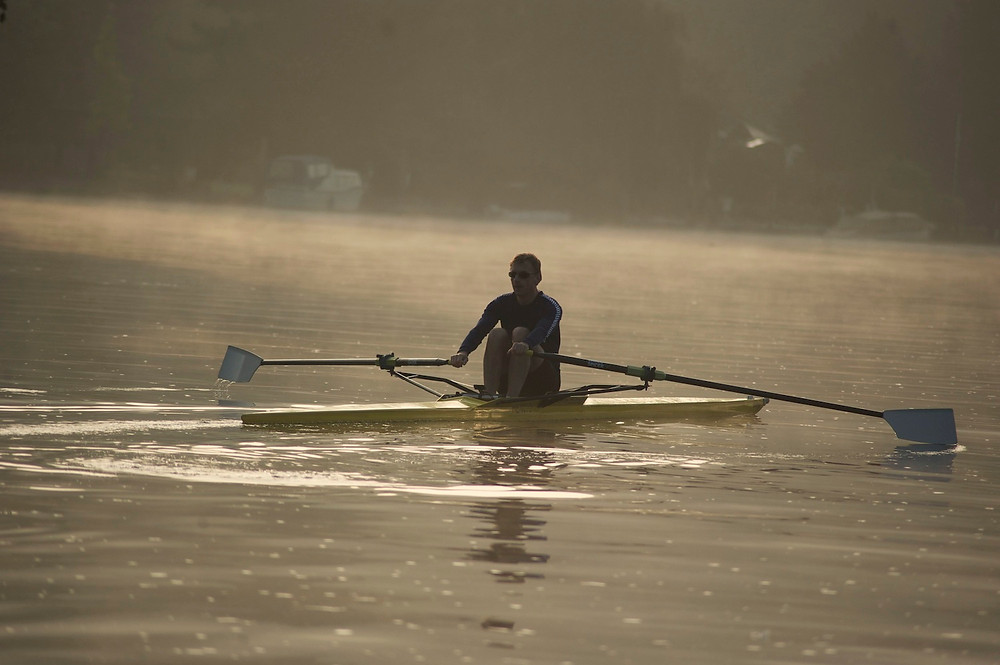 Photography in Henley. Early morning rowing