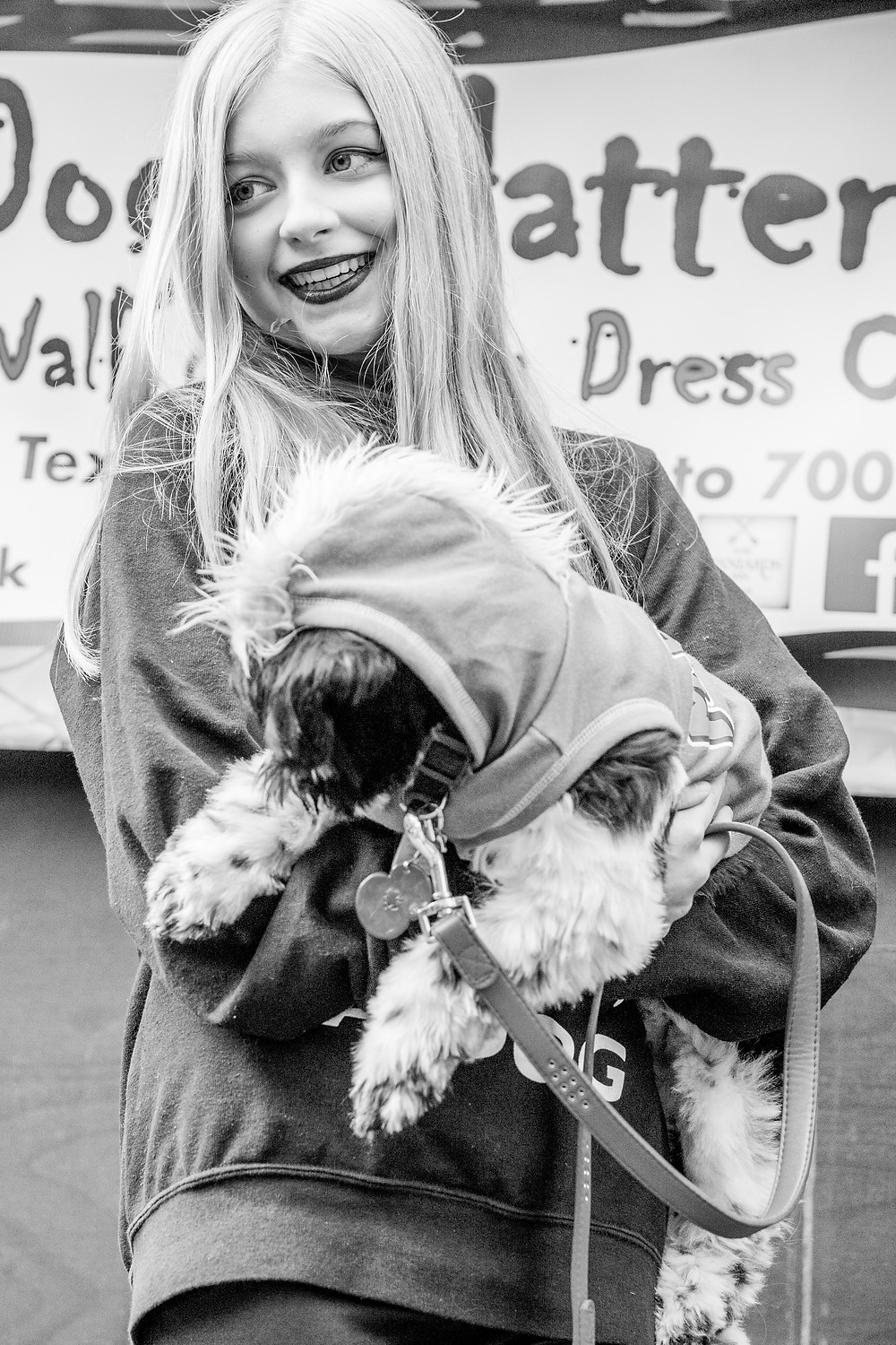 Dog photography in London. All Dogs Matter Halloween Charity Event. Fancy dress