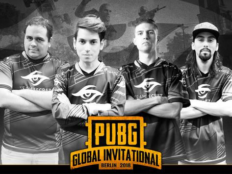 PUBG Global Invitational tem time desclassificado em primeiro dia do campeonato