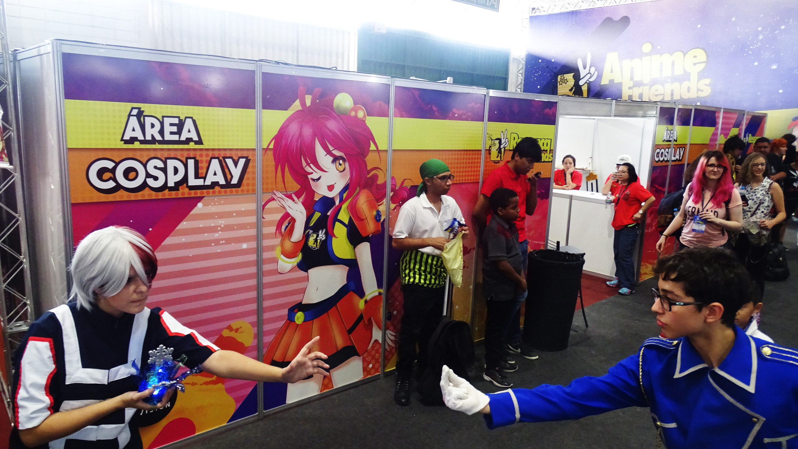 Área cosplay
