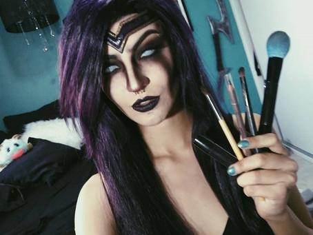 Morgana - tutorial de maquiagem por Débora Fuzeti