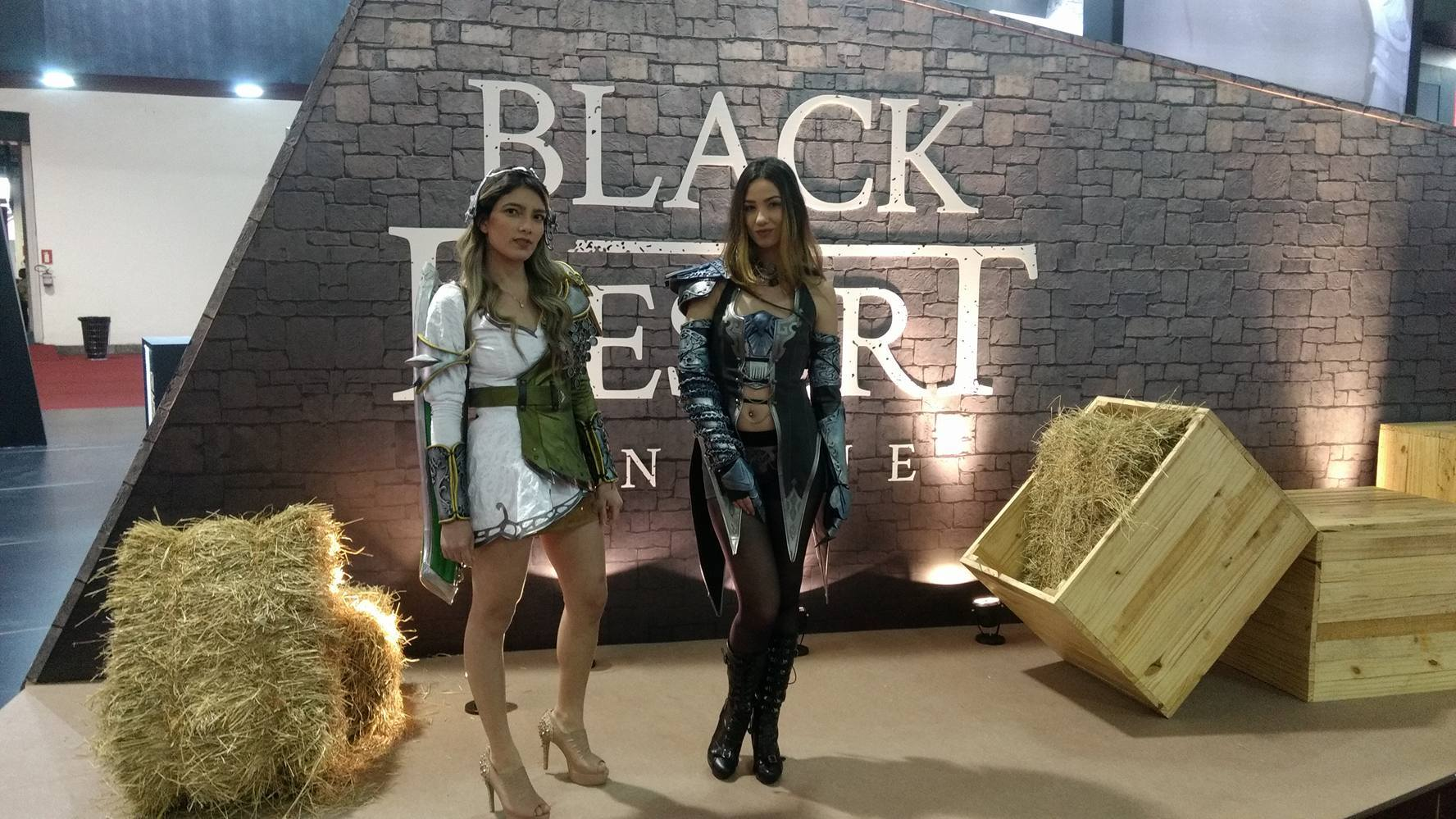 Estande do Black Desert Online