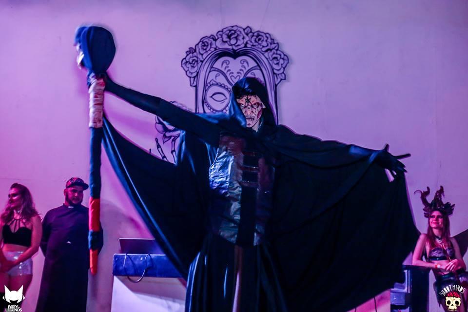 Show de terror no palco