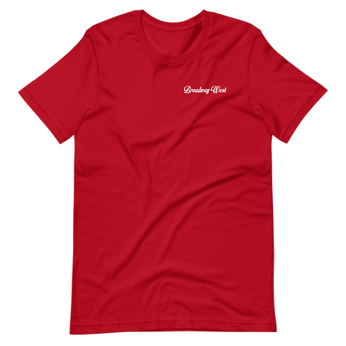 Limited Edition Red Broadway West Hit Tee