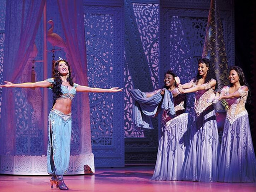 Courtney Reed's 'To Be Free' From Aladdin is Stunning